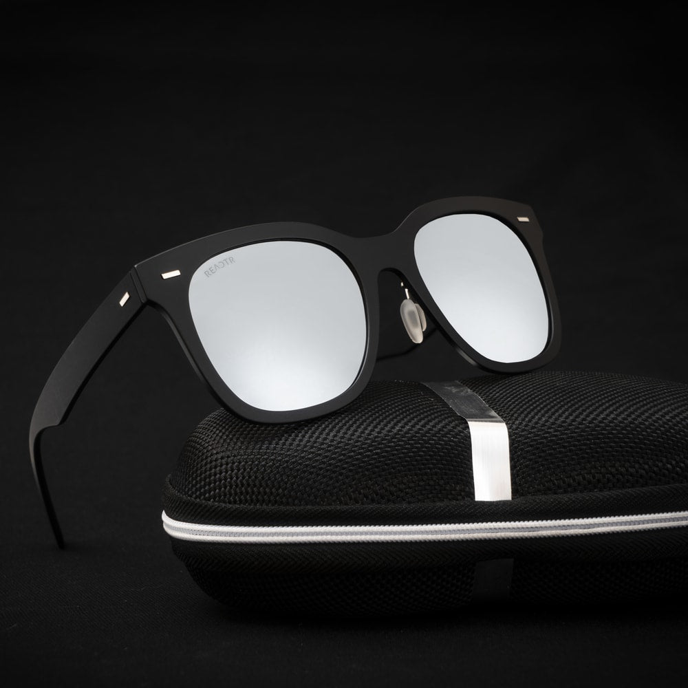 Disclosure Silver (Mirror) Sunglasses