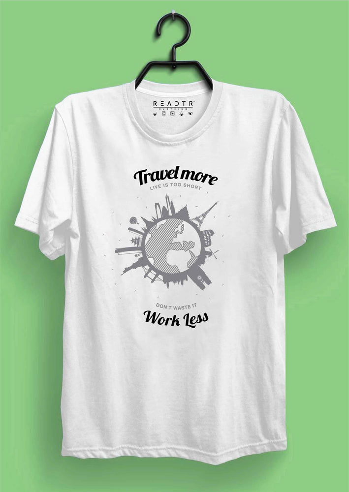 Travel More Reactr Tshirts For Men - Eyewearlabs