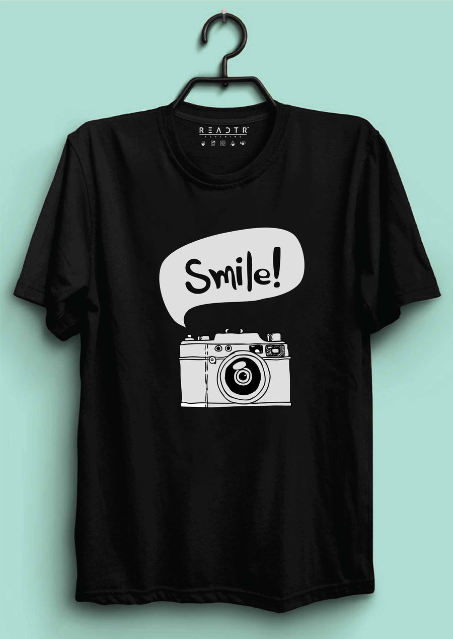 Smile Reactr Tshirts For Men - Eyewearlabs
