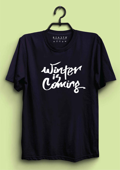 Winter Is Coming Reactr Tshirts For Men