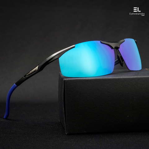 Wildfire Blue Gun Grey REACTR Sunglasses For Men
