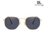 Knight Black Gold Eyewear - Eyewearlabs
