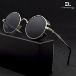 Devil's Eye Black Silver Sunglasses