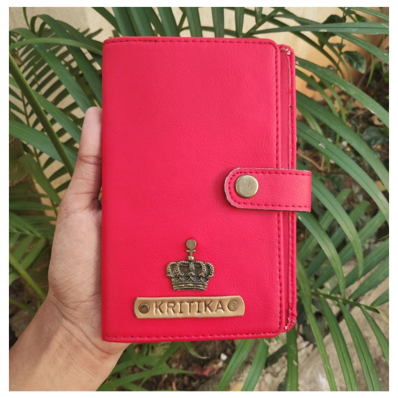Red Passport Cover (With Strap)