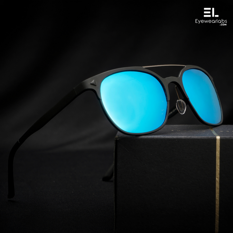Storm Black Blue Reactr Sunglasses for Men
