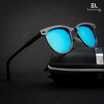 Bane Blue Gun Grey Reactr Sunglasses For Men