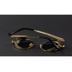 Wilcox Black Gold Eyewearlabs Power Sunglasses - Eyewearlabs