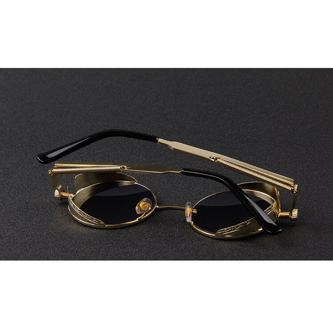 WILCOX Black Gold Original Reactr Sunglasses