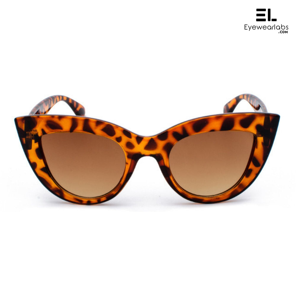 Pheobe Buffay Leopard Sunglasses For Women - Eyewearlabs