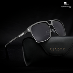 Xavier Gun Black Reactr Sunglasses for Men