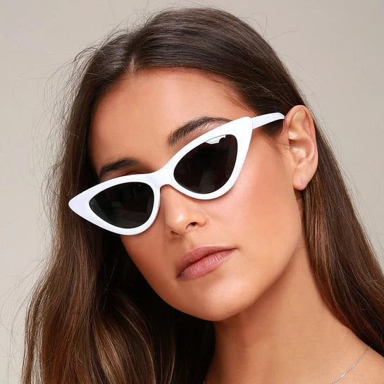 Felicity Smoak White Black Sunglasses For Women