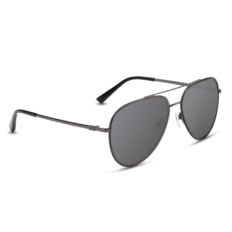 Bart Black Reactr Sunglasses - Eyewearlabs