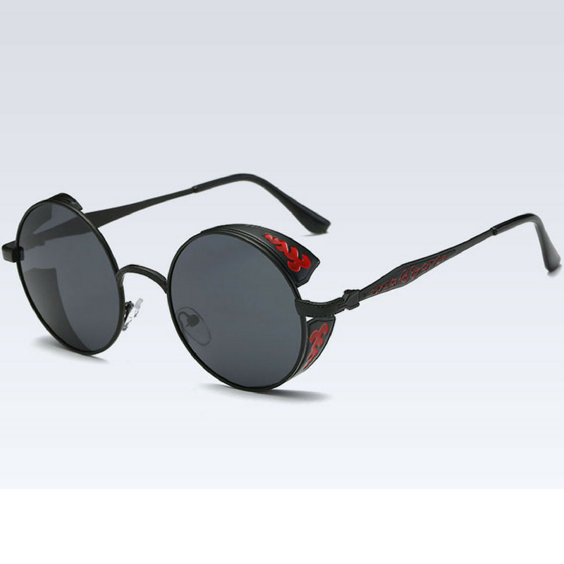 Devil's Eye Red Black  Reactr Sunglasses - Eyewearlabs