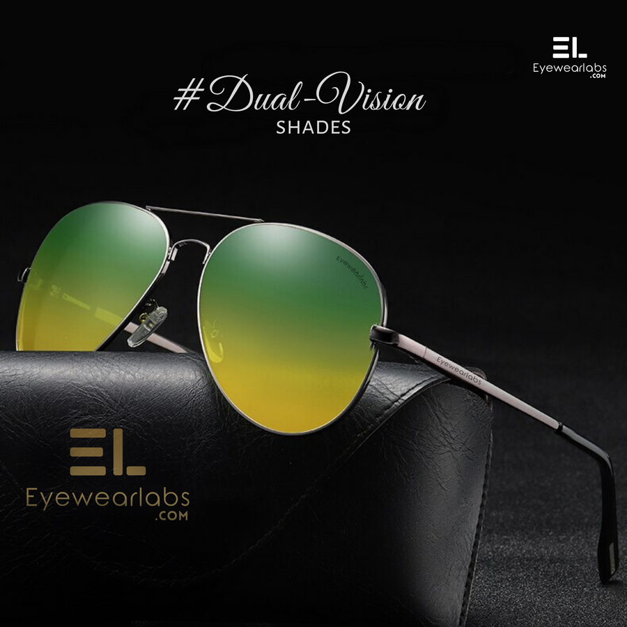 Moore Yellow Green (Day + Night Vision) Eyewear - Eyewearlabs