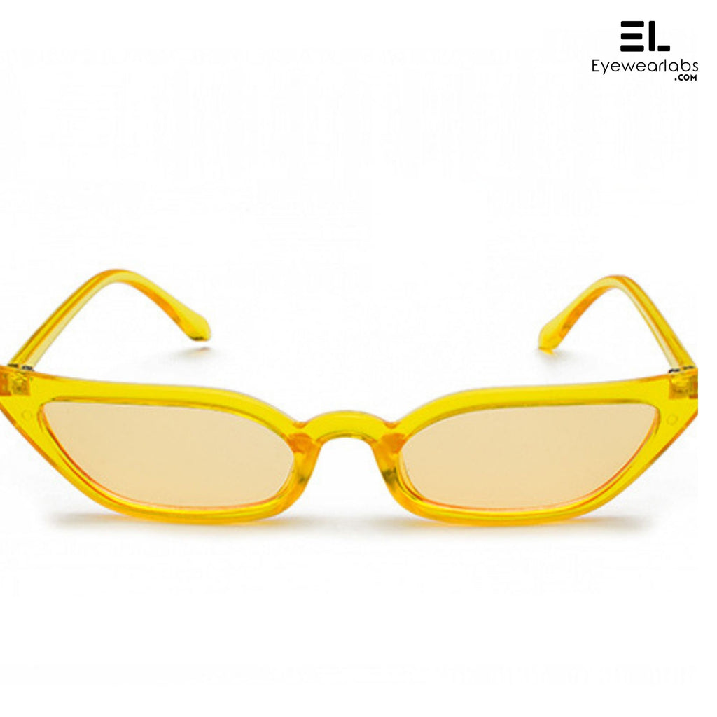 Donna Paulsen Yellow Sunglasses For Women