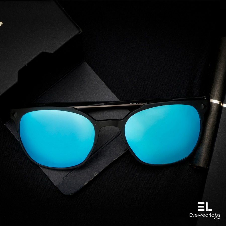 Storm Black Blue  Eyewear - Eyewearlabs