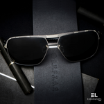 Logan Gun Silver Reactr Sunglasses for Men