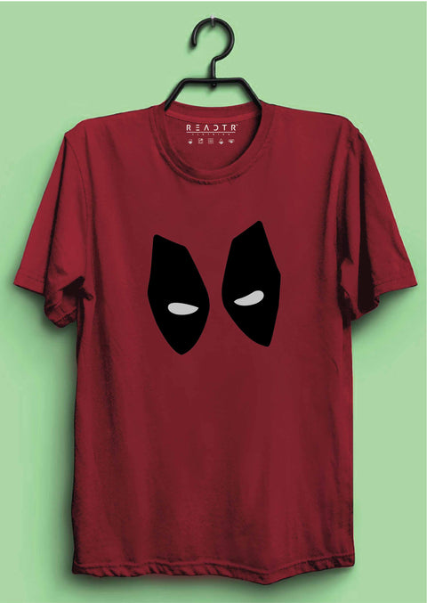 Deadpool Reactr Tshirts For Men - Eyewearlabs