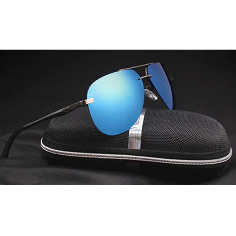 Governor Blue (Mirror) Reactr Sunglasses