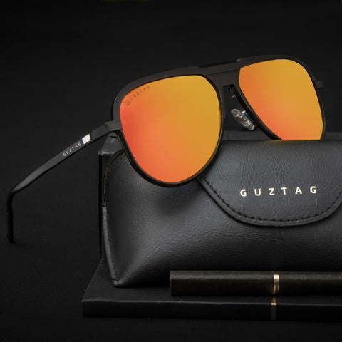 Guztag Orange Reactr Sunglasses