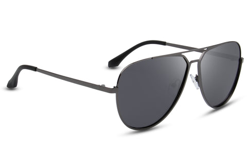 Fume Grey Black Reactr Sunglasses - Eyewearlabs