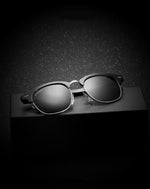 Ames  Black Gradient Reactr Sunglasses-C1 - Eyewearlabs (502510059562)