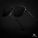 Gambit Black Reactr Sunglasses for Men - Eyewearlabs