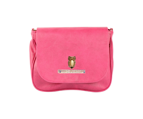 Pink Sling Bag - Eyewearlabs