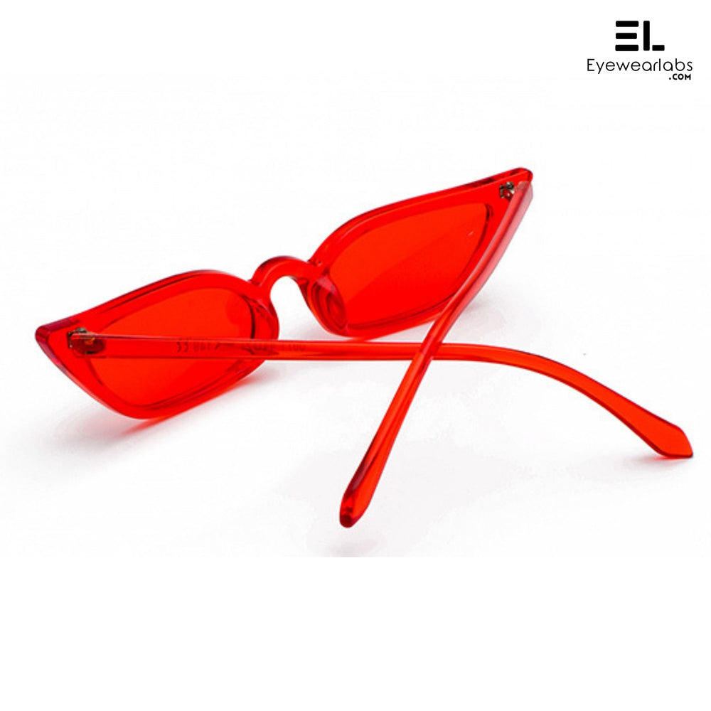 Donna Paulsen Red Eyewear - Eyewearlabs
