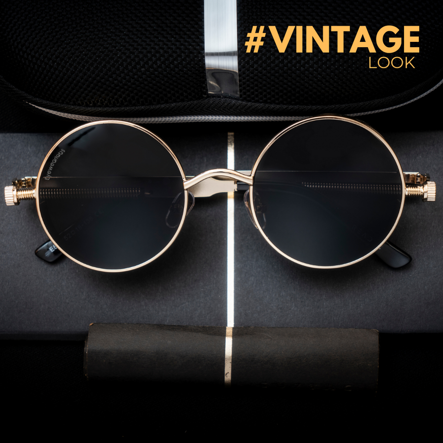 Wilcox Black Gold Eyewear