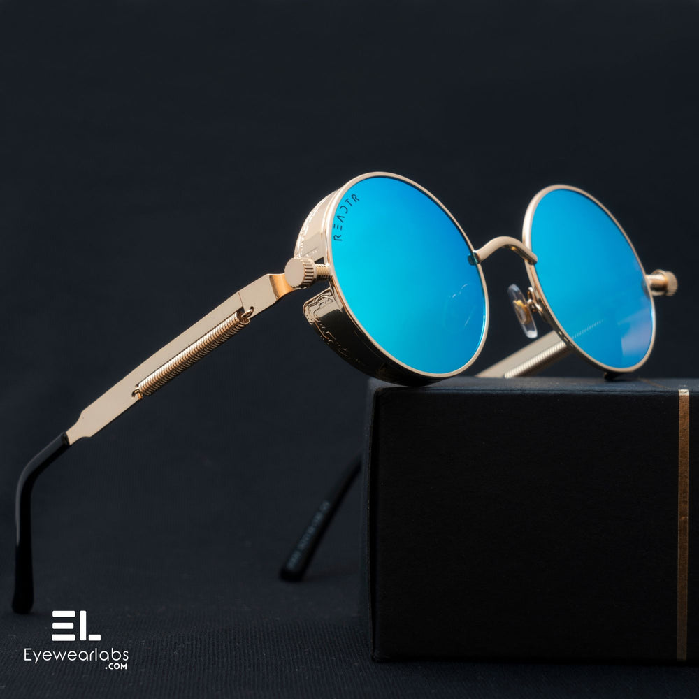 Wilcox Blue Gold Eyewear