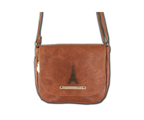Tan Brown Sling Bag - Eyewearlabs