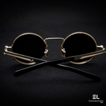 Hawk Black Gold Eyewear - Eyewearlabs