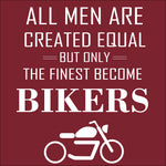 Only The Finest Become Bikers Reactr Tshirts For Men - Eyewearlabs
