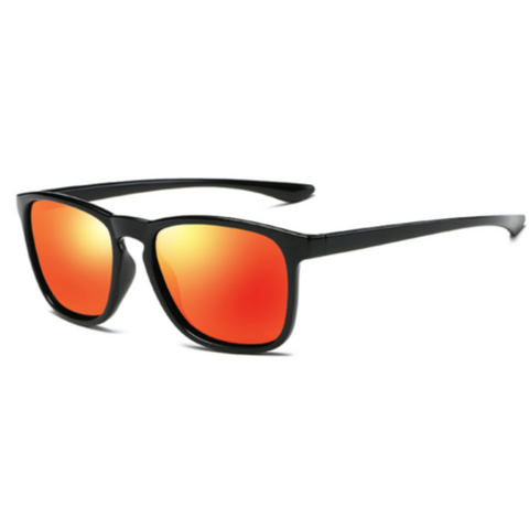 Ace Orange (Biker's Mirror) Reactr Sunglasses - Eyewearlabs