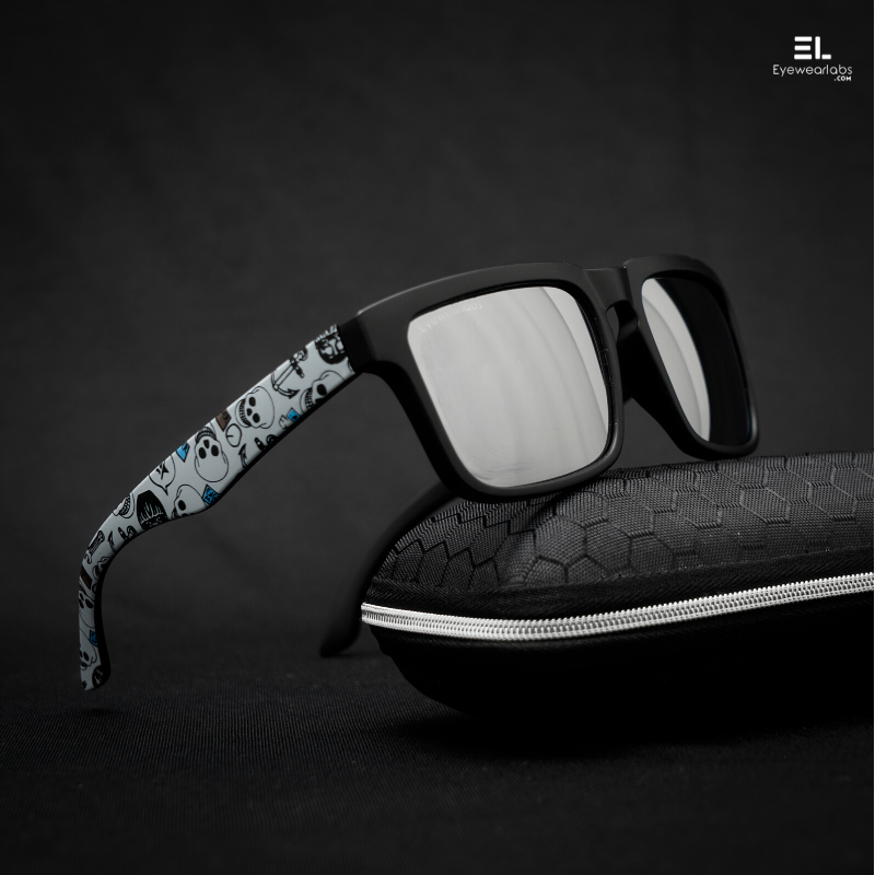 Batman Silver Mirror Eyewear - Eyewearlabs
