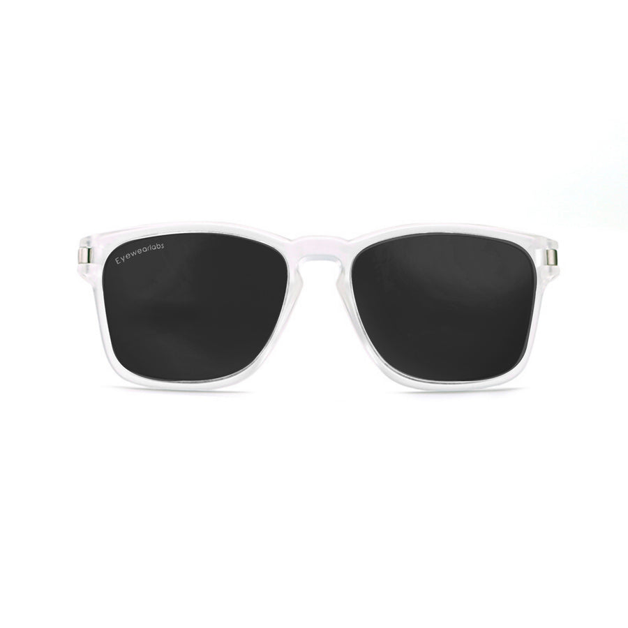 Crystal Black Eyewearlabs Power Sunglasses