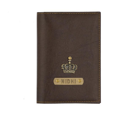 Dark Brown Passport Cover - Eyewearlabs