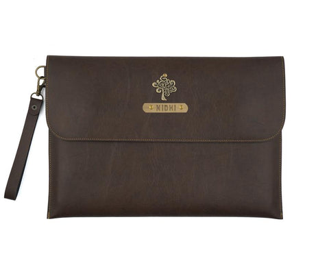 Dark Brown Laptop Sleeve - Eyewearlabs