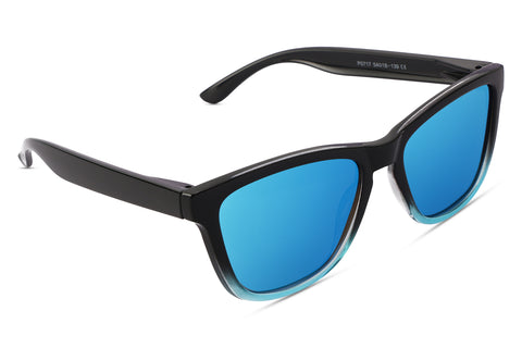 Durand Blue (Biker's Mirror) Reactr Sunglasses - Eyewearlabs