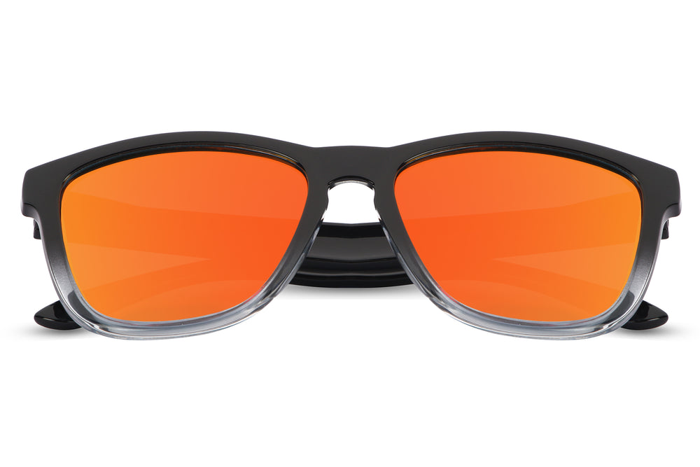 Durand Orange (Biker's Mirror) Sunglasses - Eyewearlabs