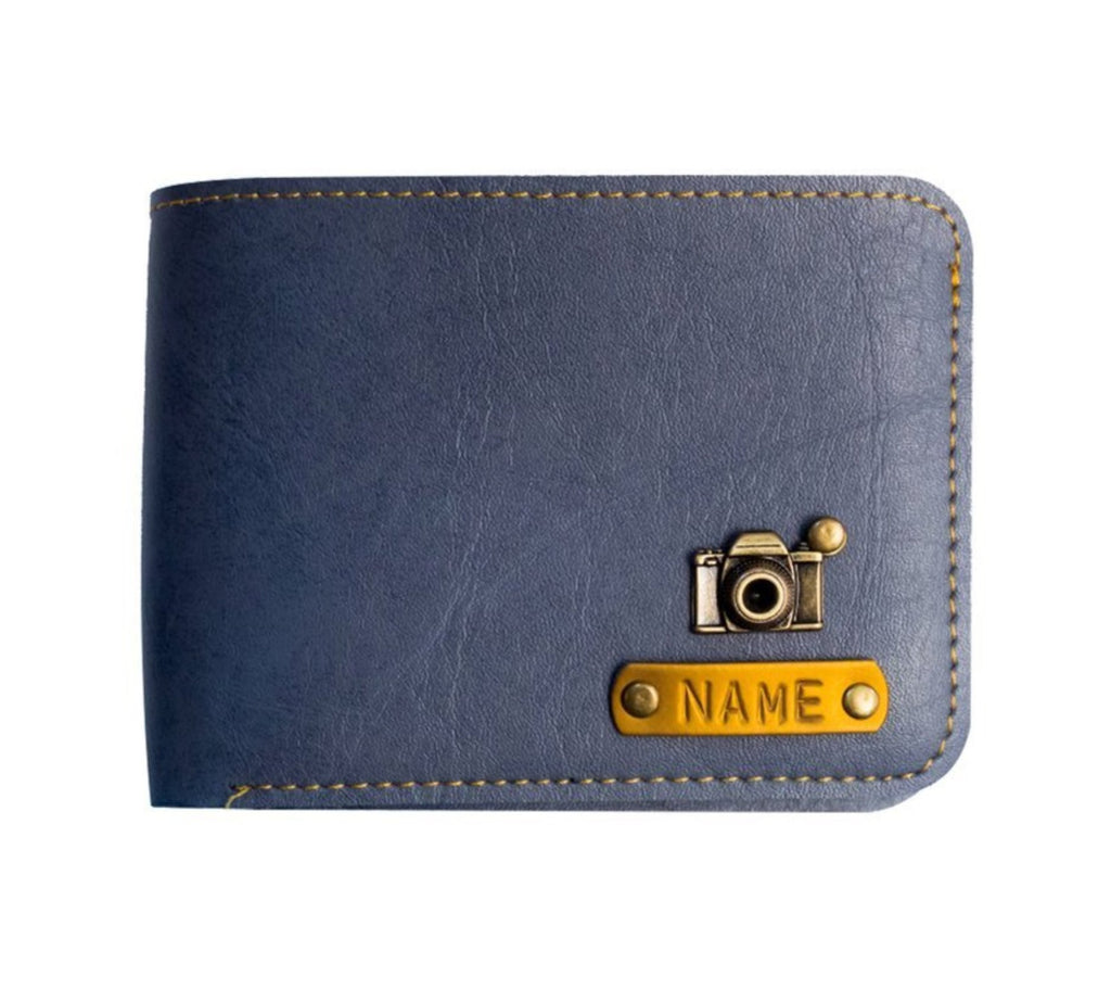 Blue Men's Wallet - Eyewearlabs
