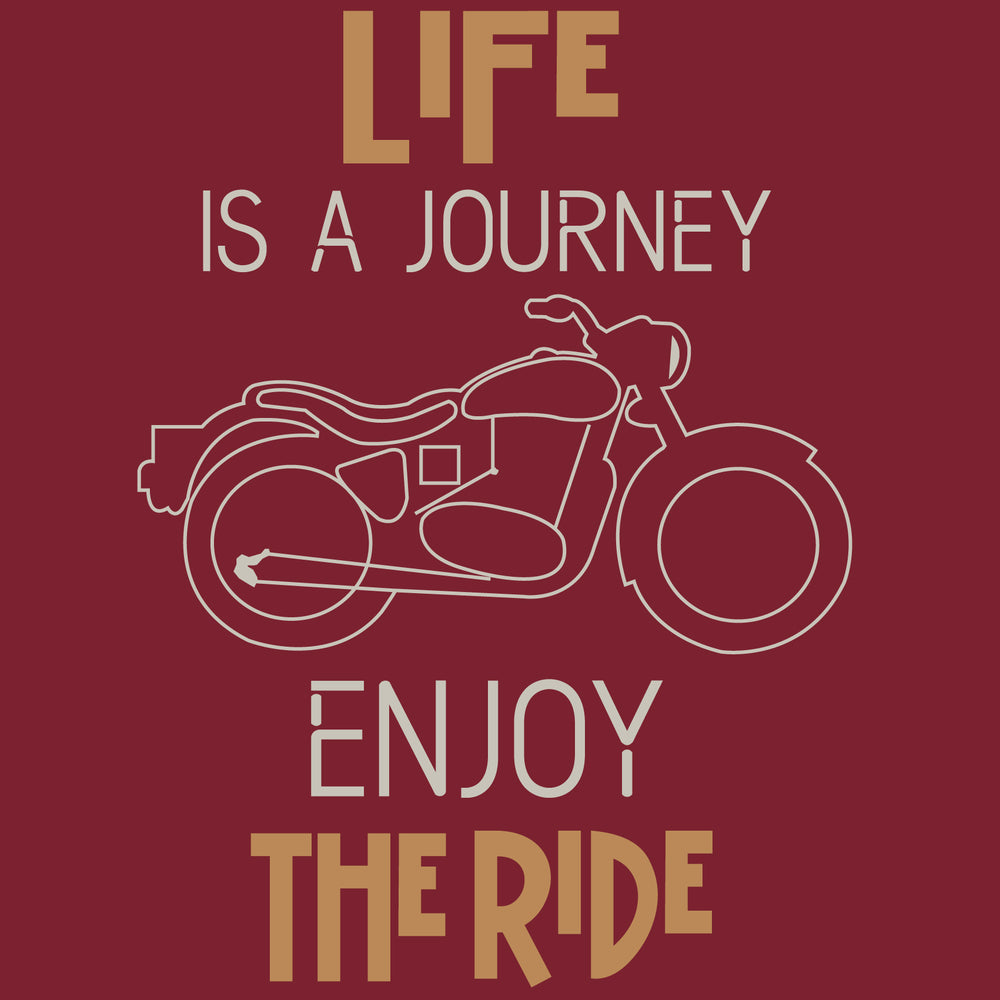 Enjoy The Ride Reactr Tshirts For Men - Eyewearlabs