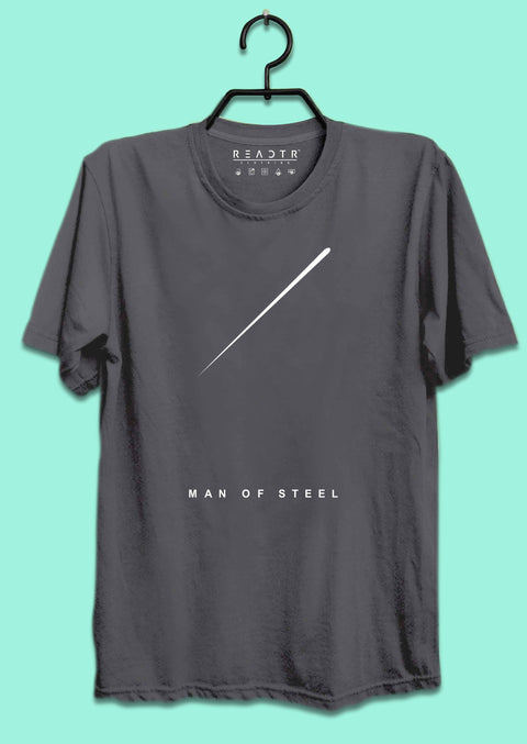 Man Of Steel Reactr Tshirts For Men