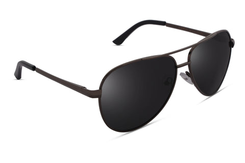 Moore Black Reactr Sunglasses - Eyewearlabs