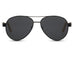 Patezi Black (Wooden Sunglass) Reactr Sunglasses - Eyewearlabs