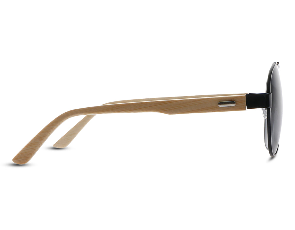 Patezi Black (Wooden)  Eyewear - Eyewearlabs