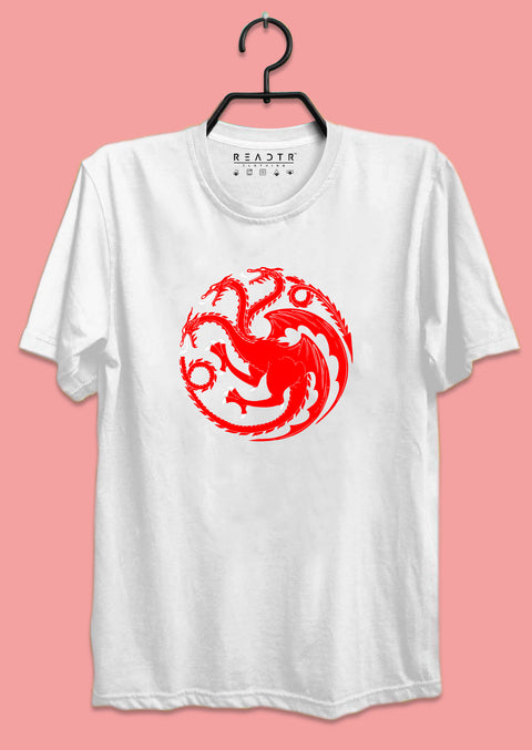 Targaryen GOT Reactr Tshirts For Men - Eyewearlabs