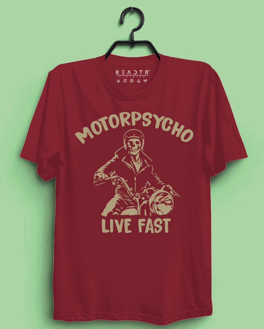 Motorpsycho Reactr Tshirts For Men - Eyewearlabs