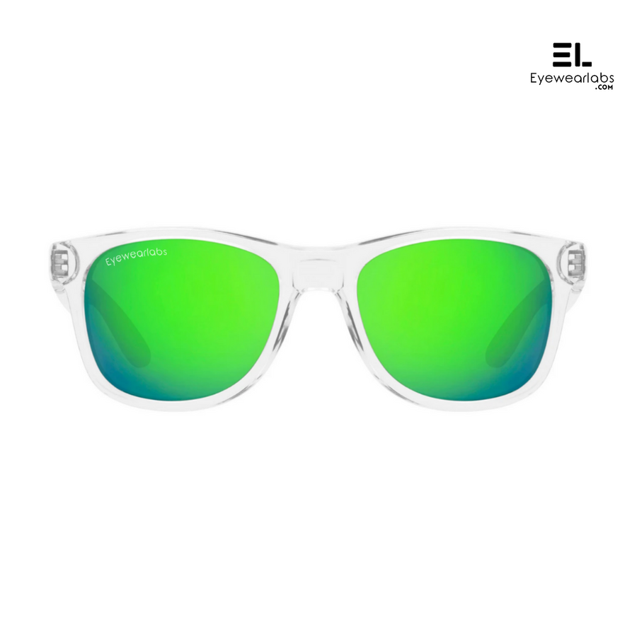 White Walker Green Eyewear